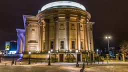 Liverpool hotels near St George's Hall