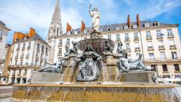 Nantes hotels near Place du Commerce