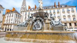 Find cheap flights from Cape Town to Nantes
