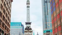 Indianapolis hotels near Soldiers and Sailors Monument