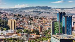Find cheap flights from Sun City to Bogotá