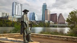 Austin hotels near Stevie Ray Vaughan Statue