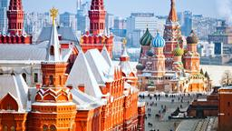 Moscow hotels near Pushkin Square